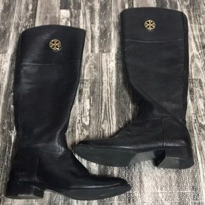 Leather Upper 6.5M Tory Burch tall boot